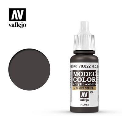 German Camouflage Black Brown Model Color - Vallejo - Farben