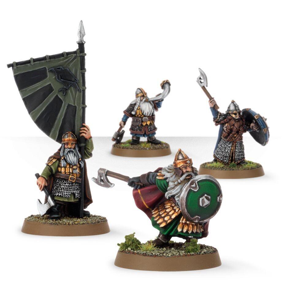 MO: Dwarf Commanders - Lord of the Rings Hobbit- Games Workshop