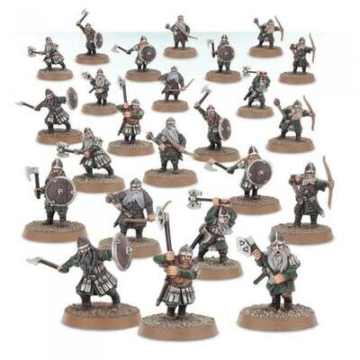 MO: Dwarf Warriors - Lord of the Rings Hobbit- Games Workshop