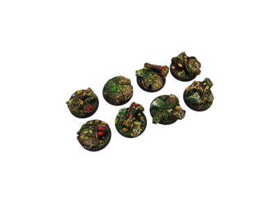 Forest Bases, Round 32mm (4) - Micro Art Studio