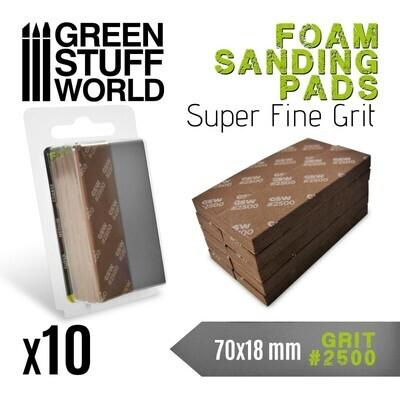 EVA-SCHAUM-PAD Körnung 2500 Sanding Pads - Greenstuff World