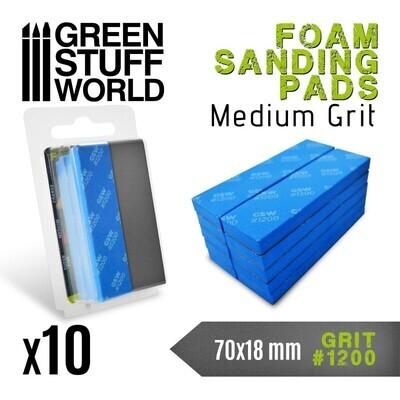 EVA-SCHAUM-PAD Körnung 1200 Sanding Pads - Greenstuff World