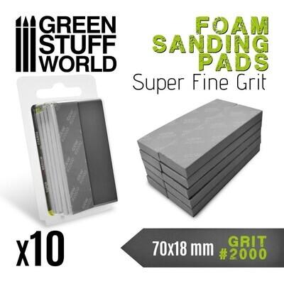 EVA-SCHAUM-PAD Körnung 2000 Sanding Pads - Greenstuff World