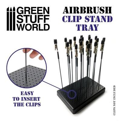 Airbrush-Clip-Halter und Krokodilklemmen - Greenstuff World