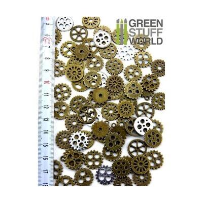 Steampunk-ZAHNRÄDER 85 gr *** 15 mm Gears & Cogs - Greenstuff World