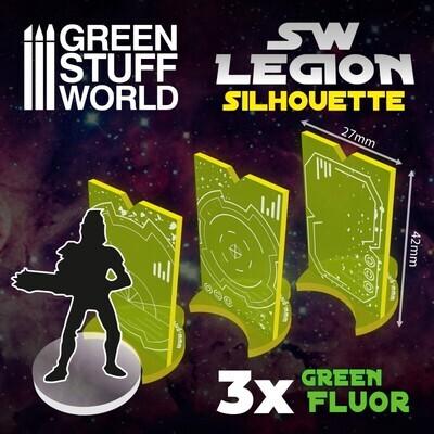 SW Legion Silhouette - Fluor Grün Green - Greenstuff World