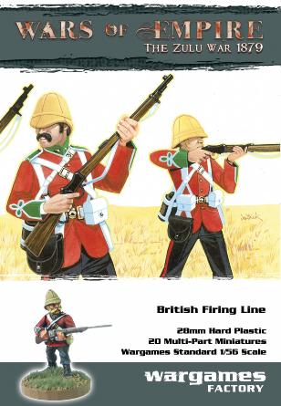 British Firing Line - Wars of Empire - Wargames Factory
