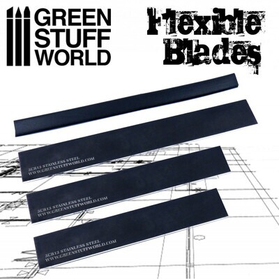 Flexibles Klingenset - Schneidwerkzeuge - Flexible Blade Set - Greenstuff World