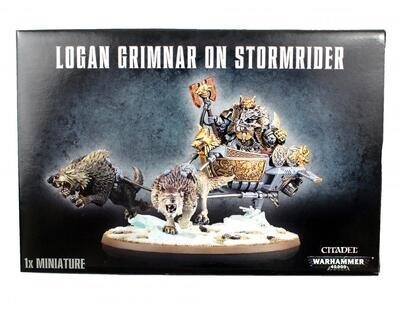 MO: Logan Grimnar on Stormrider Space Wolves - Warhammer 40.000 - Games Workshop