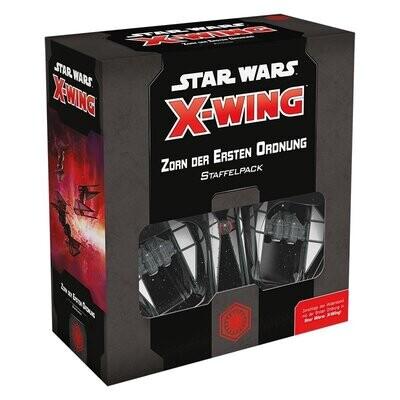 Star Wars: X-Wing 2. EditionZorn der Ersten Ordnung - Deutsch