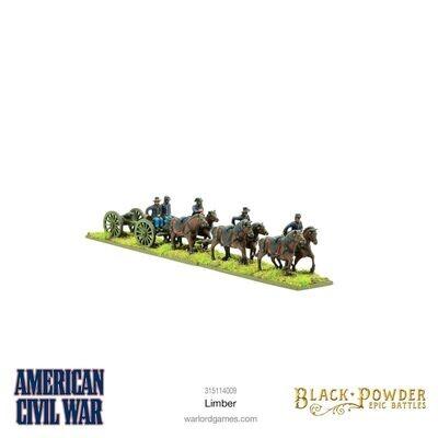 Epic Battles: American Civil War Limber   - Warlord Games