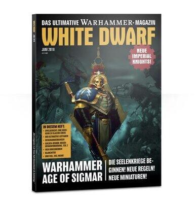 White Dwarf Juni 2018 (Deutsch) - Games Workshop