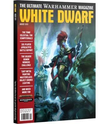 White Dwarf August 2019 (Deutsch) - Games Workshop