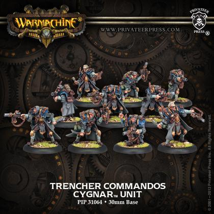 Cygnar Trencher Commandos Unit (10) - Warmachine - Privateer Press
