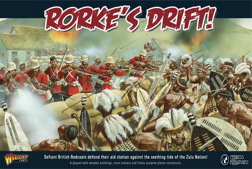 Rorke's Drift - Anglo-Zulu- War - Black Powder - Warlord Games