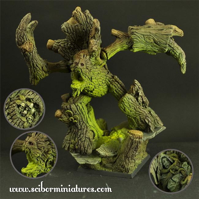 Treeman Baummensch - Scibor Miniatures