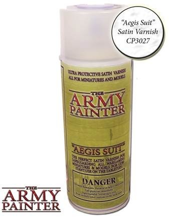 Aegis Suit Satin Varnish - Army Painter Lack