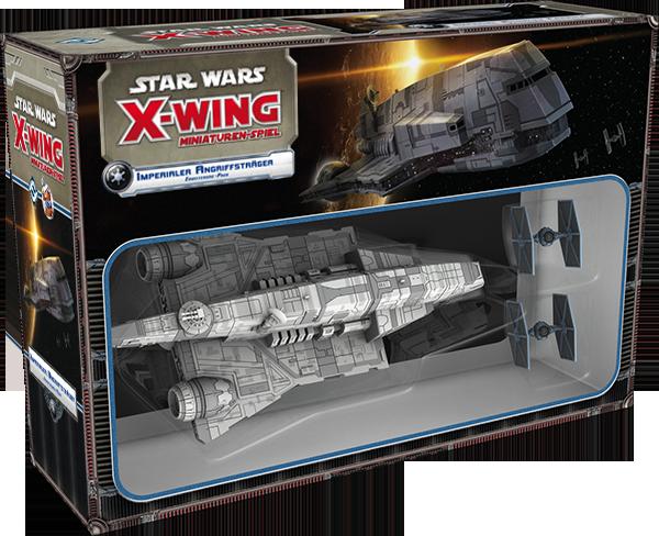 Star Wars: X-Wing - Imperialer Angriffsträger Imperial Assault Carrier (Gozanti) Erweiterung-Pack Deutsch