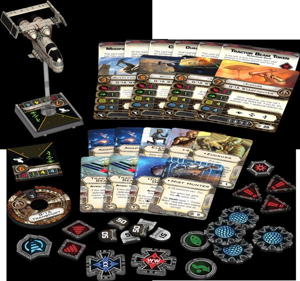Star Wars: X-Wing - Nebeljäger Erweiterung-Pack Deutsch