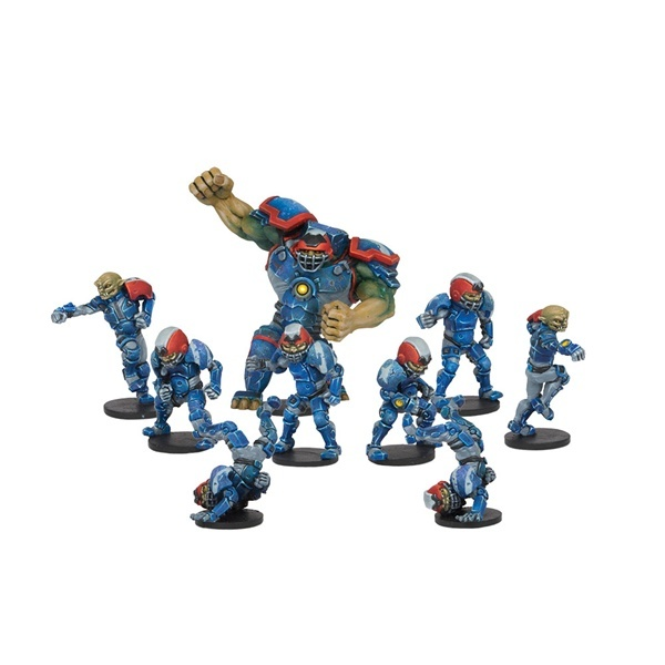 DreadBall Rallion Ross Hobgoblin Team (9 Figuren) - Mantic Games