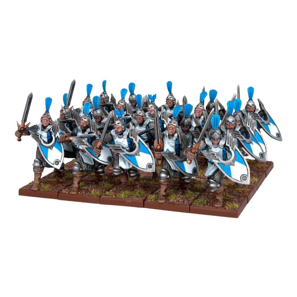 Men At Arms (20) - Basilean - Kings of War - Mantic Games
