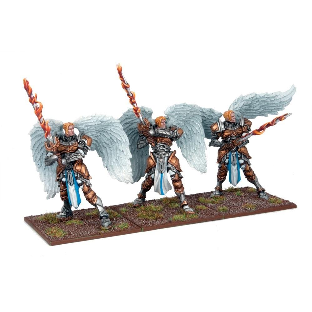 Elohi (3) - Basilean Elohi Troop - Kings of War - Mantic Games