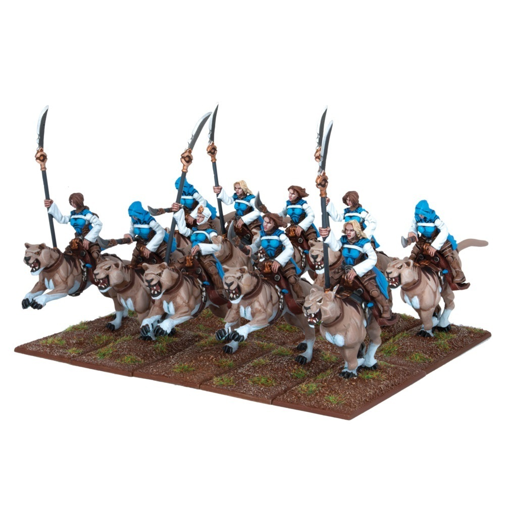 Sisterhood Lancers (10) - Basilean - Kings of War - Mantic Games