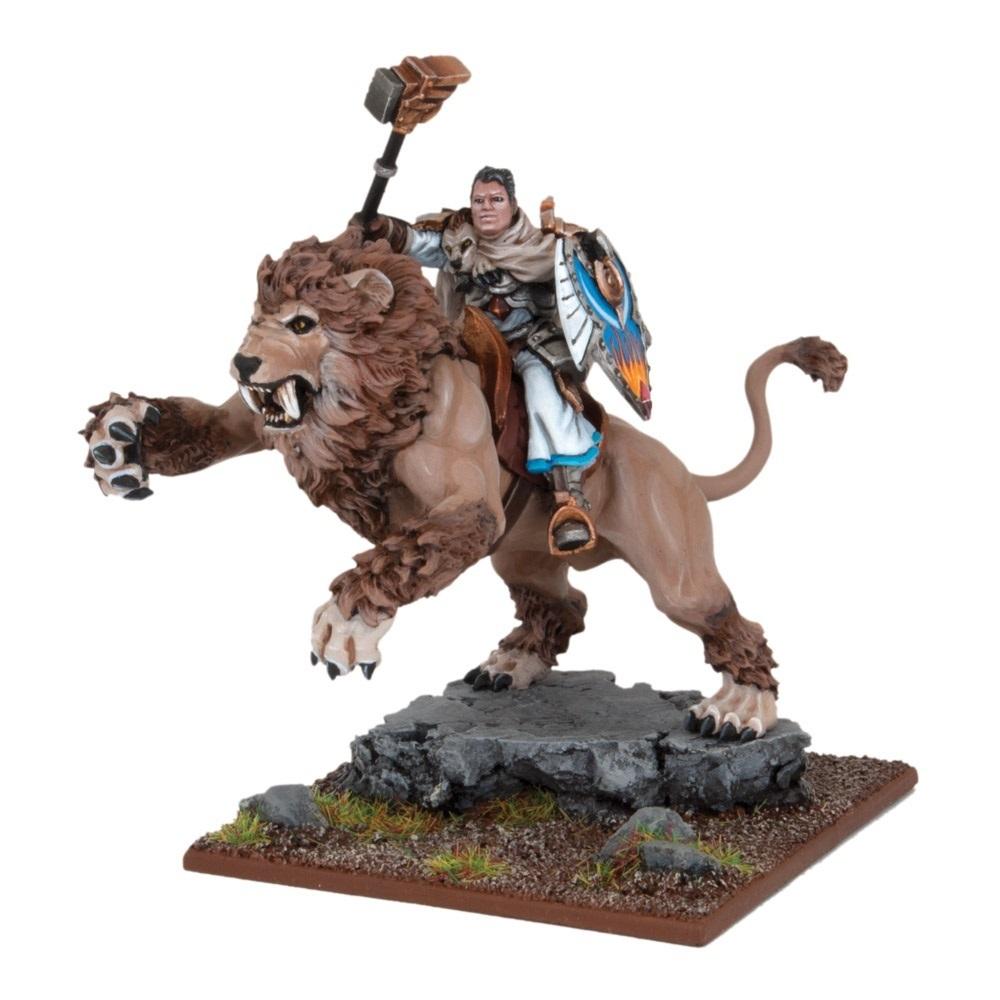 Grand Master Sallustis riding Nakir  - Basilean - Kings of War - Mantic Games
