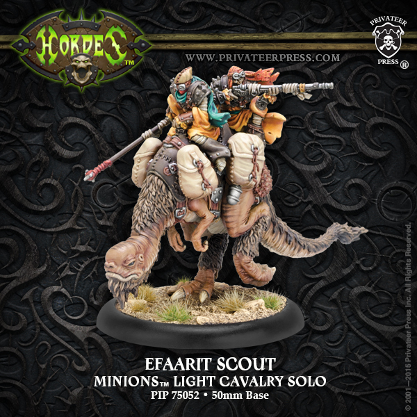 Minion Efaarit Scout Resin - Hordes - Privateer Press