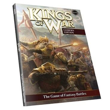 Kings of War 2nd Edition (e) Softback - Regelbuch - Kings of War