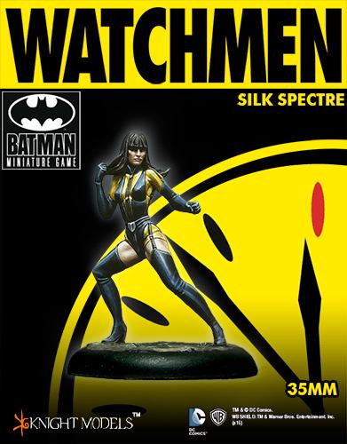 Silk Spectre - Watchmen - Batman Miniature Game