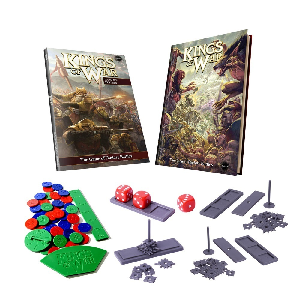 Kings of War 2nd Edition Deluxe Game Edition (e) - Regelbuch english - Kings of War