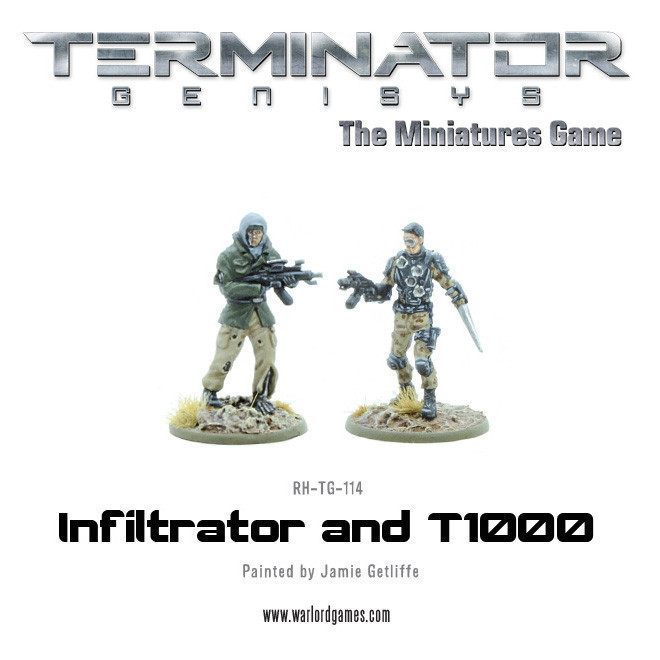 T1000 and Infiltrator (metal) - Terminator Genisys - River Horse