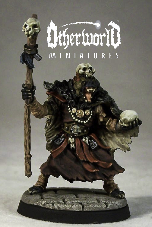 DM5f – Gnoll Shaman - Otherworld Miniatures