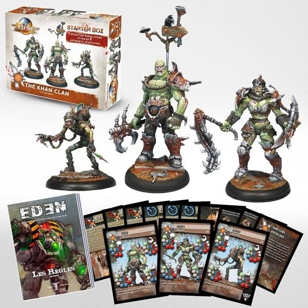 Starter Box Clan Khan - Eden