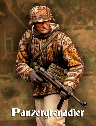 Panzergrenadier Ardennes - Warfront - Scale75