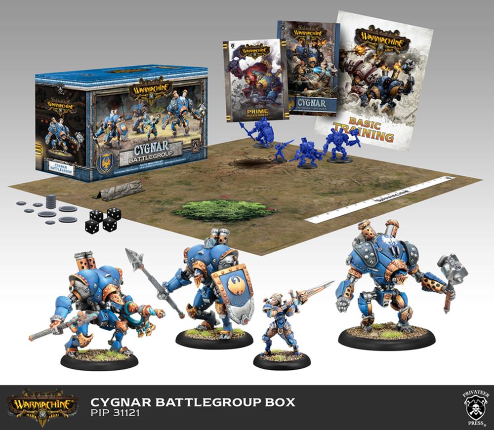 Cygnar Battlegroup Starter Box (Plastic) - Warmachine - Privateer Press