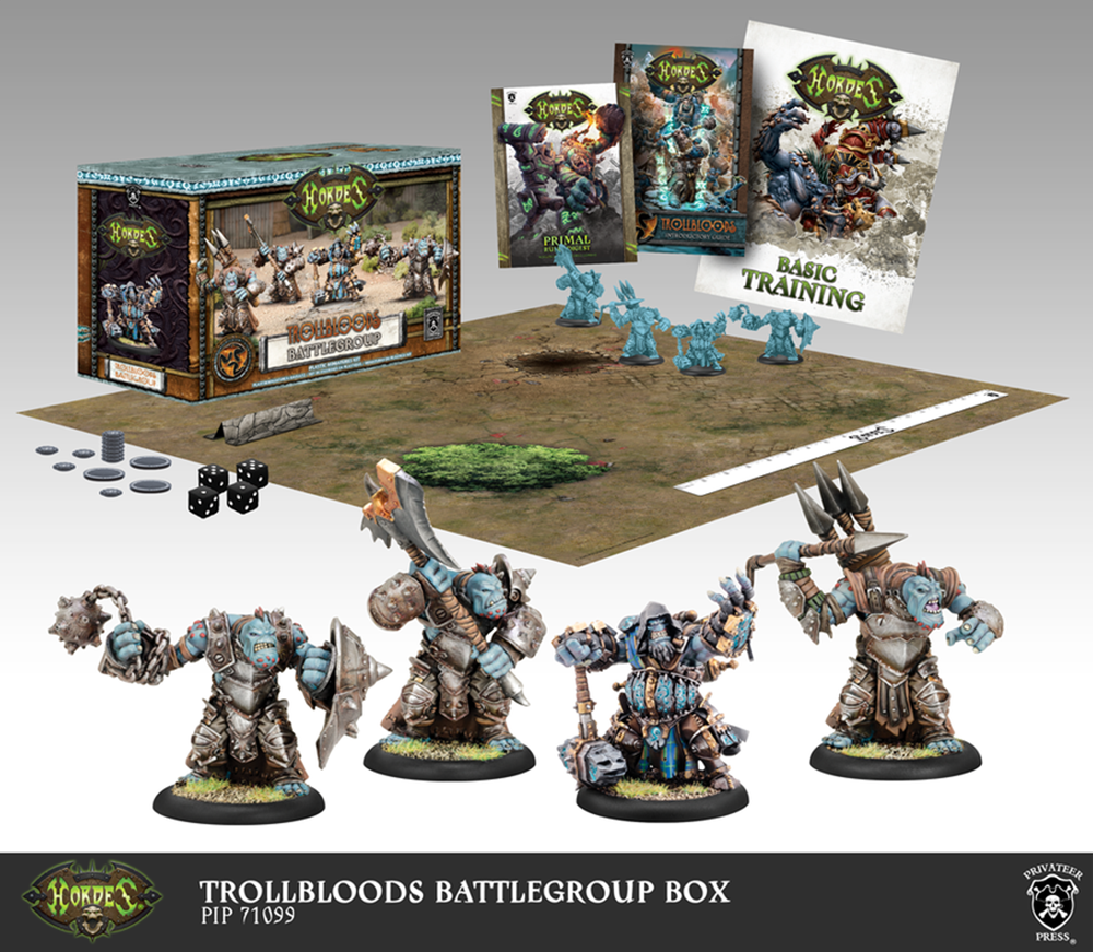 Trollblood Battlegroup Starter Box (Plastic) - Warmachine - Privateer Press