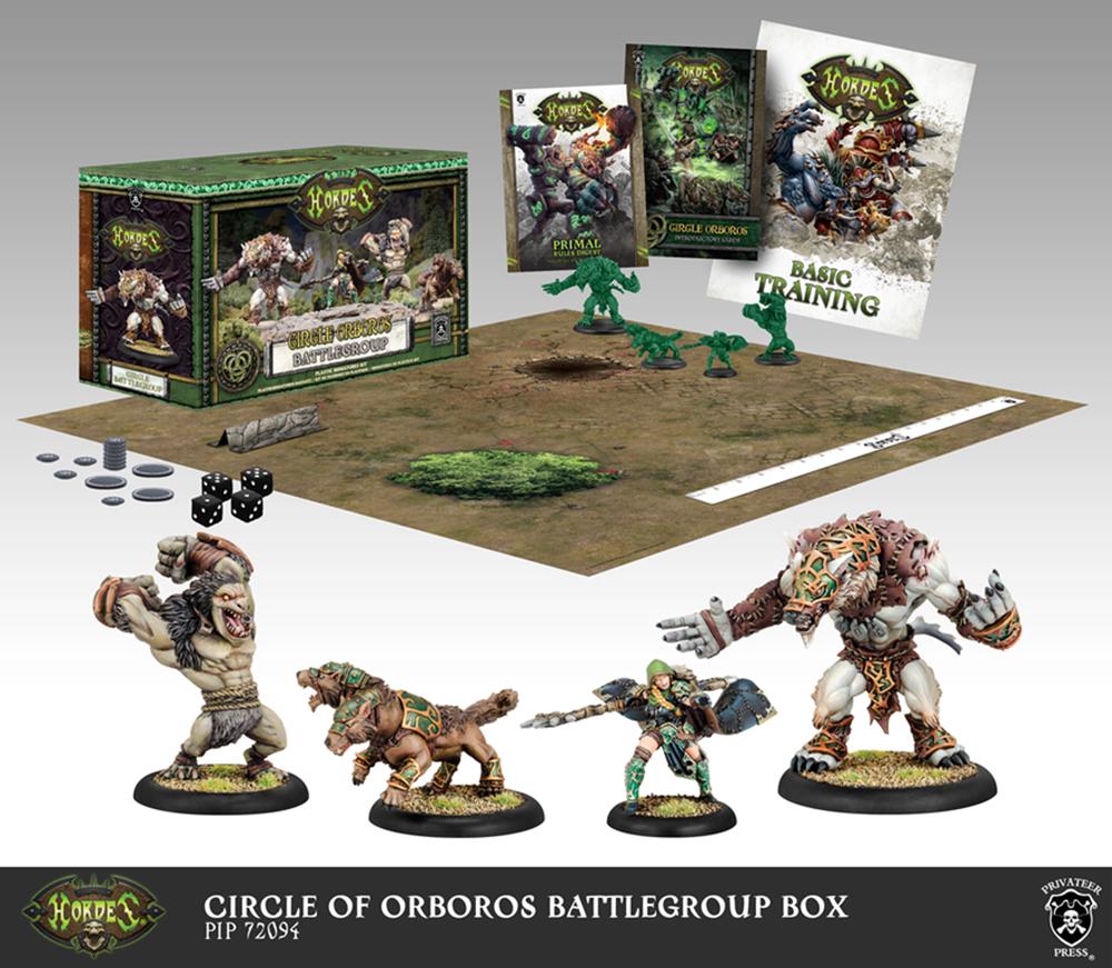 Circle of Orboros Battlegroup Starter Box (Plastic) - Warmachine - Privateer Press