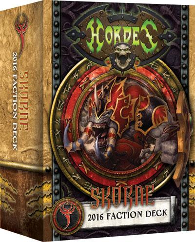 Skorne 2016 Faction Deck - Kartenset - Fraktionsdeck - Hordes- Privateer Press