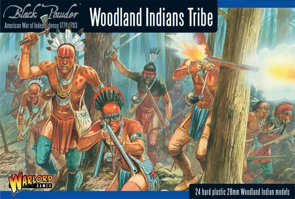 Woodland Indian Tribes - American War of Independence - Warlord Games