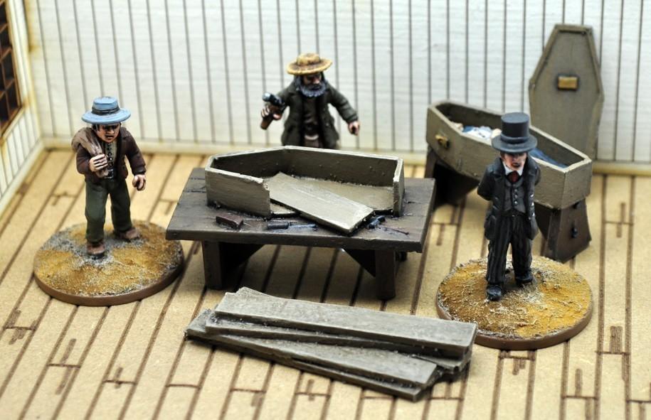 Undertakers Civilian Set - Dead Man's Hand