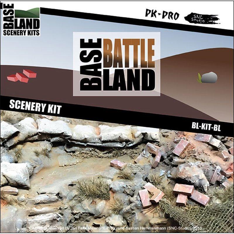 Base-Land-Scenery-Kit-Schlachtfeld - PK-Pro
