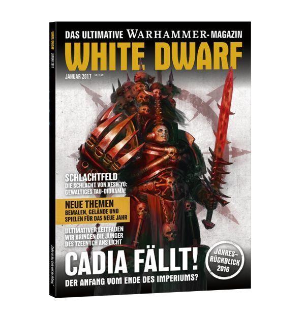 White Dwarf Januar 2017 (Deutsch) - Games Workshop