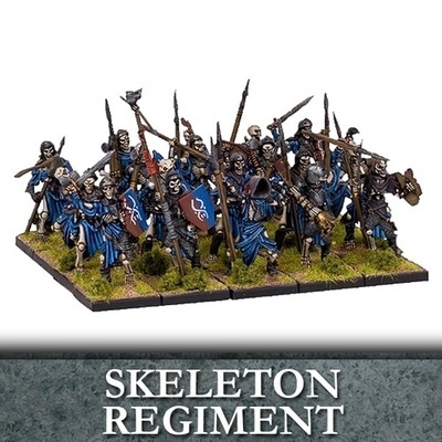 Undead Skeleton Regiment - Untote - Kings of War - Mantic Games
