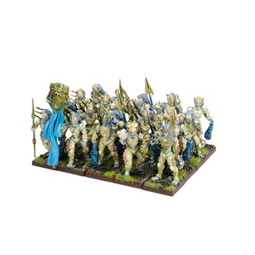 Forces of Nature Naiad Regiment - Kings of War - Mantic Games