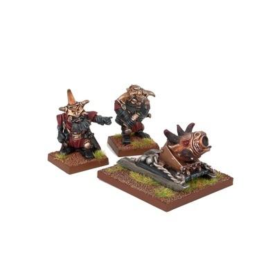 Abyssal Dwarf G'rog Light Mortar - Abyssal Dwarfs - Kings of War - Mantic Games