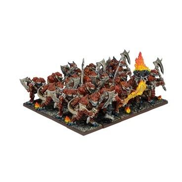 Forces of Nature Salamander Regiment - Kings of War - Mantic Games