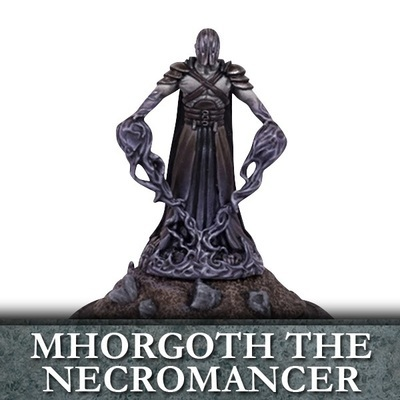 Mhorgoth the Necromancer - Untote - Undead - Kings of War - Mantic Games
