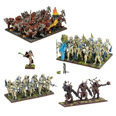 Forces of Nature Army - Kings of War - Mantic Games